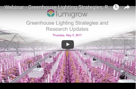 Greenhouse Lighting Strategies, Research Updates and Light Sensors