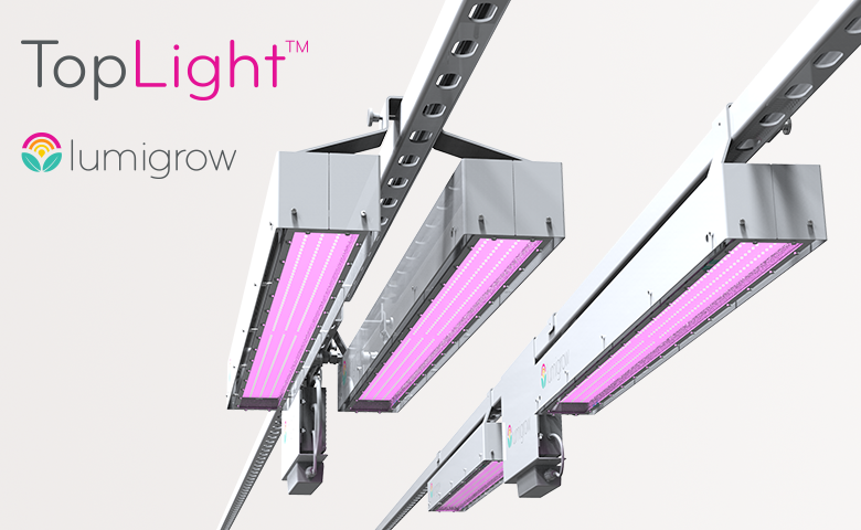LumiGrow Launches TopLight, Their Newest Smart Horticultural Lighting Solution for Optimizing Crop Yields and Costs