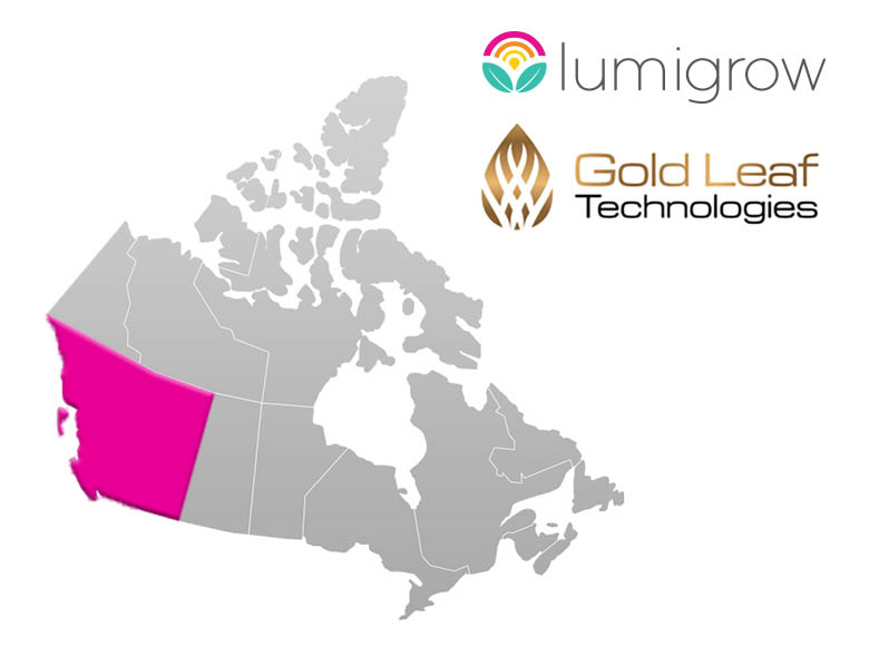 LumiGrow Adds Gold Leaf Technologies to Partner Network for Local Lighting Support in BC and Alberta, Canada