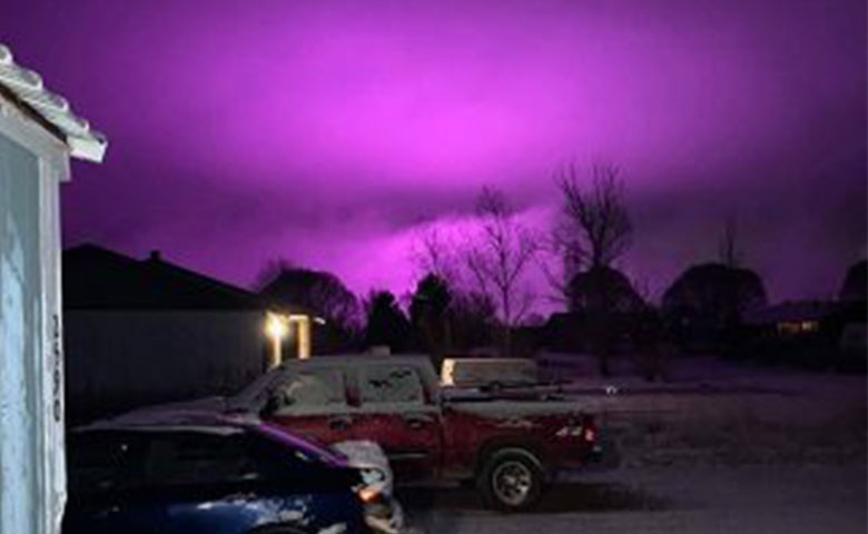 Learn More About What's Causing the Purple Haze Over Arizona